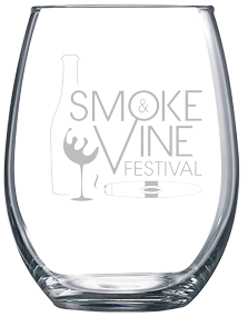 Smoke and Vine Glass
